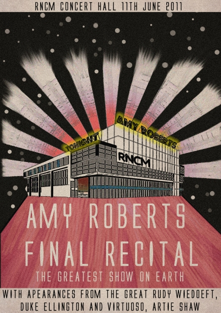 Amy Roberts Recital Cover